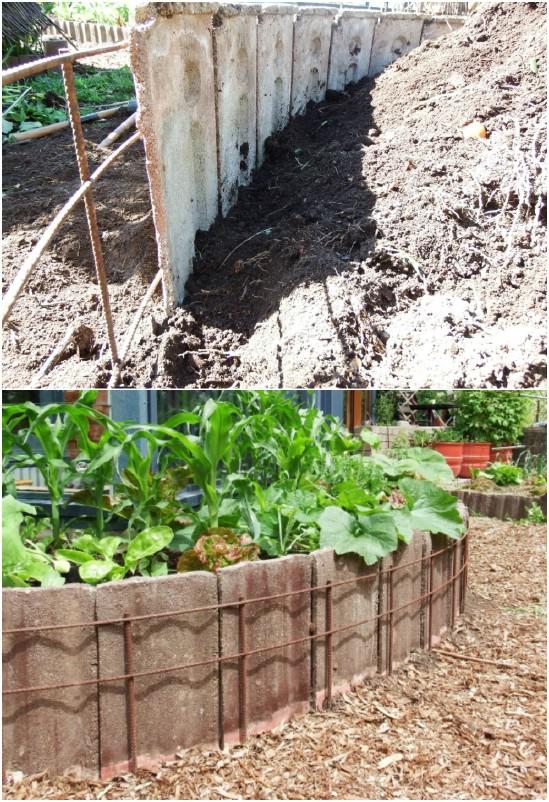 Concrete Roofing Tiles Garden Fence