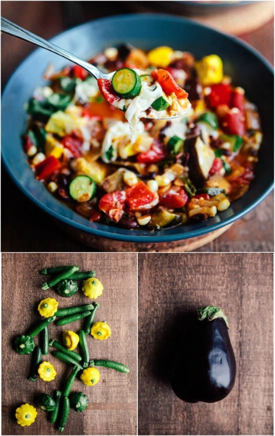 Black Bean Chili With Summer Vegetables