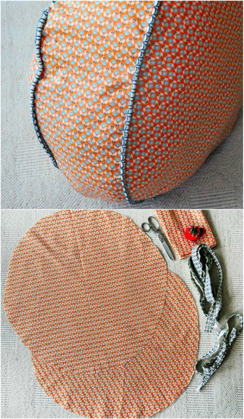 22 Easy Diy Giant Floor Pillows And Cushions That Are Fun And