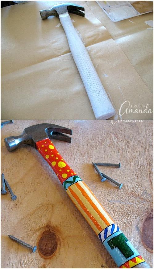 Easy DIY Monogrammed Hammer