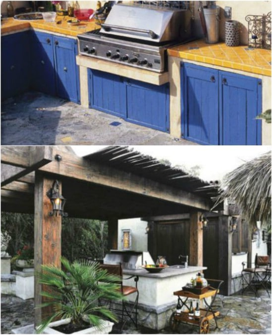 Outdoor Kitchens: 15 Amazing DIY Outdoor Kitchen Plans You Can Build On A Budget