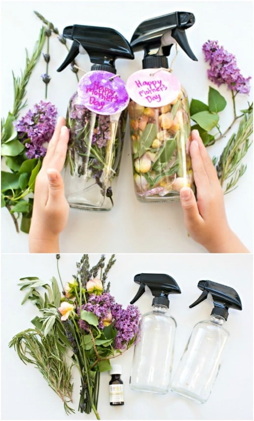 Homemade Floral Herb Perfume