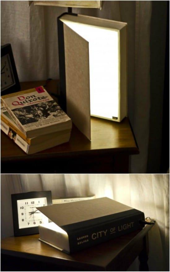 Cute DIY Book Nightlights