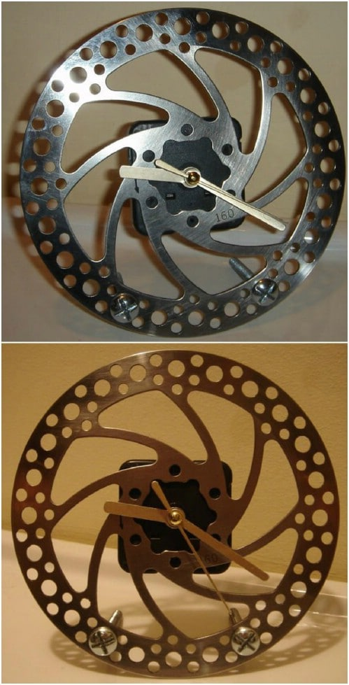 DIY Brake Disc Clock