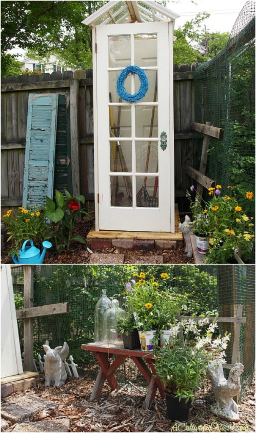 Simple And Cheap DIY Decorative Garden Shed