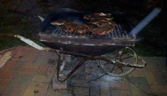 DIY Portable Barbecue Grill