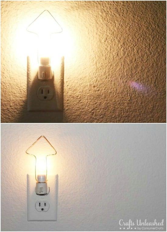 Easy DIY Wired Nightlight