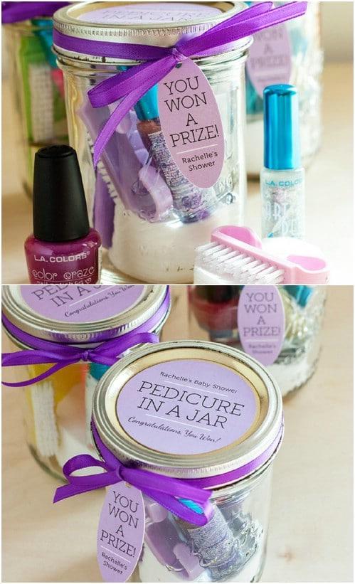 Bridesmaids' Pedicure In A Jar