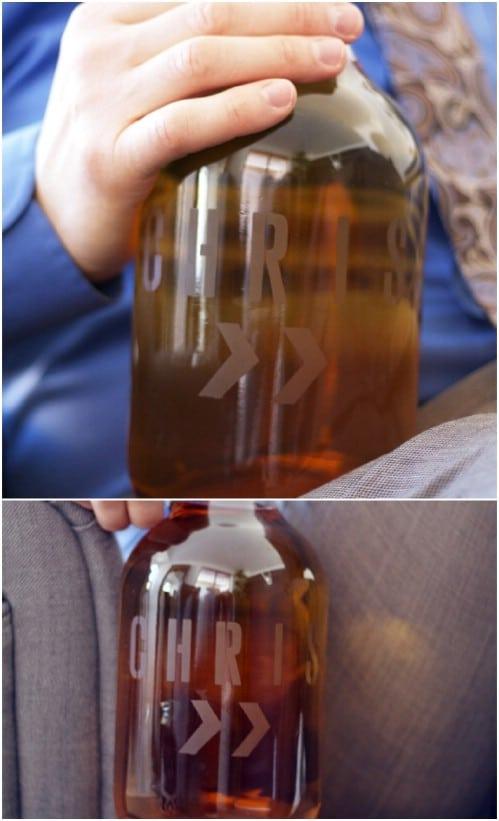 DIY Personalized Beer Growlers