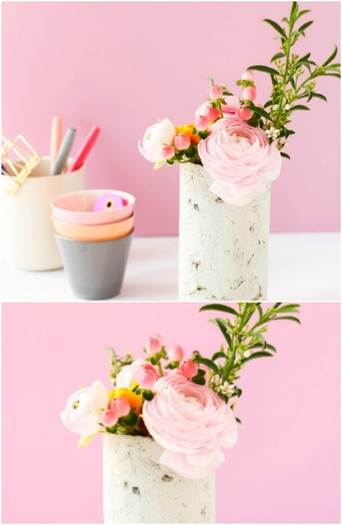DIY Concrete Vase