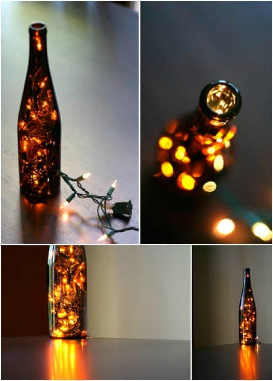 So Easy DIY Wine Bottle Nightlight
