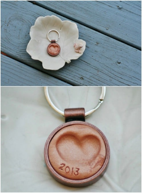 DIY Thumbprint Key Fob