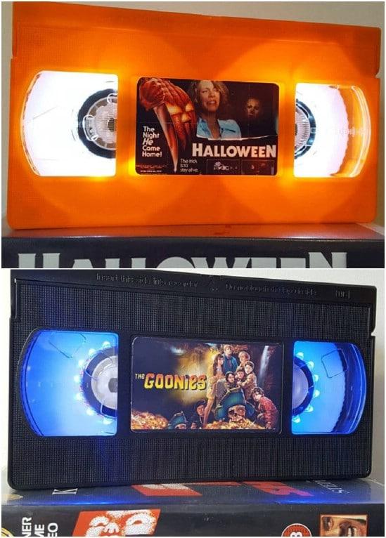 Retro VHS Tape Nightlight