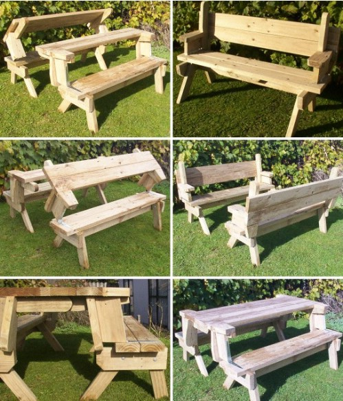 18 Rustic Diy Picnic Tables For An Entertaining Summer
