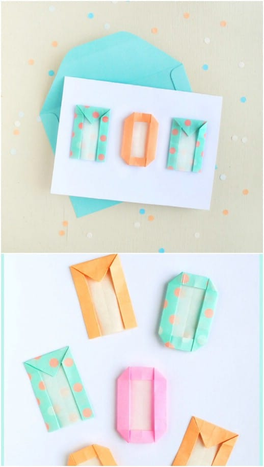 Simple DIY Origami Letter Card