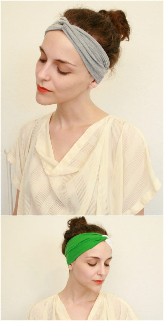 Quick Hand Sewn Turban Headband