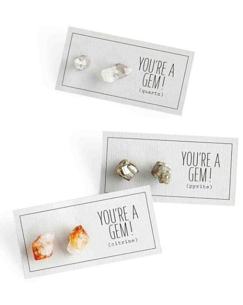 Simple DIY Gemstone Earrings