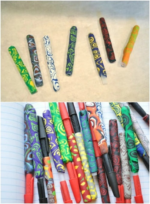 Cute DIY Clay Pens