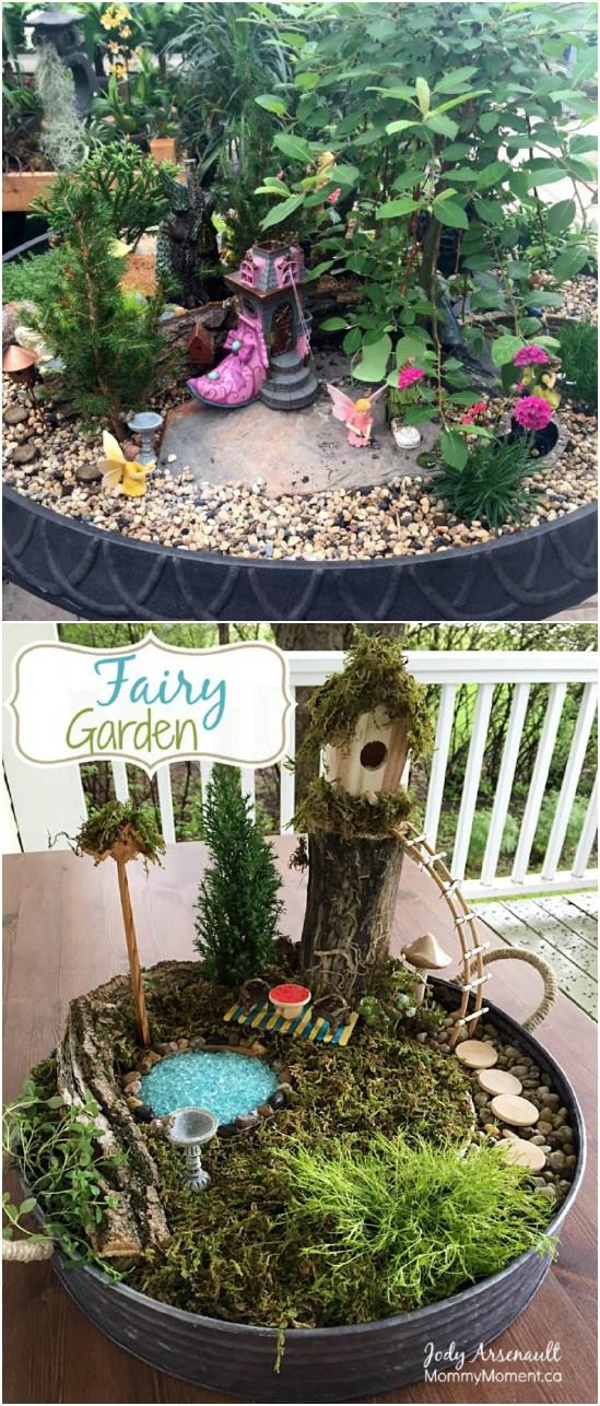 Simple Budget Friendly Fairy Garden