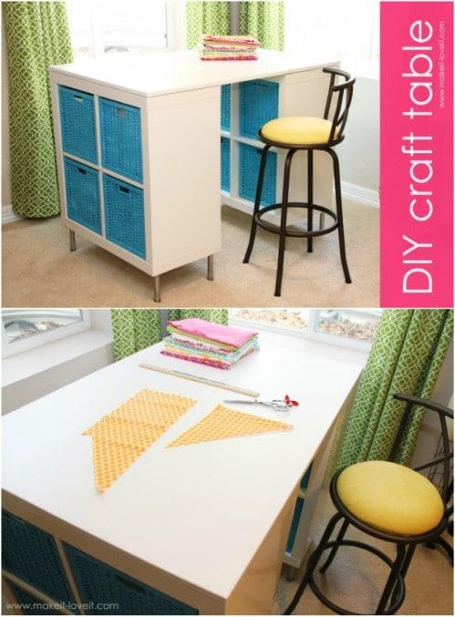 Tall Counter Height Craft Desk