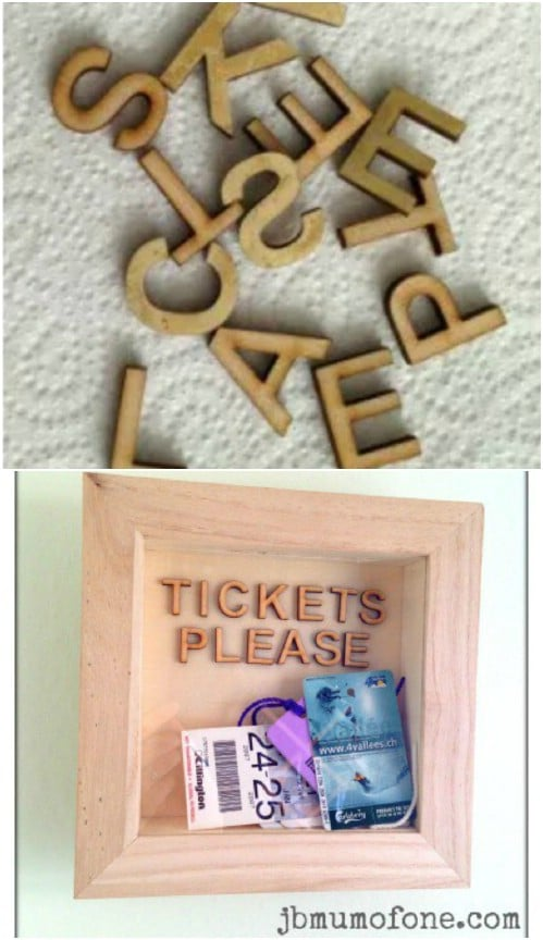 Easy DIY Memory Box