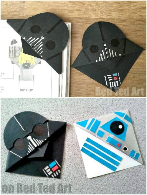 Cute Star Wars Inspired Book Corners