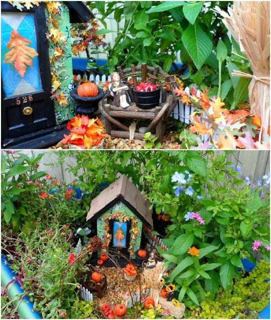 Easy DIY Wheelbarrow Fairy Garden