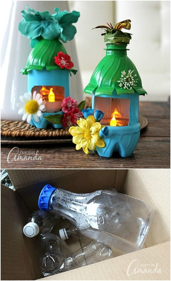 Upcycled Plastic Bottle Fairy Nightlight