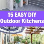 Outdoor Kitchen DIY Ideas