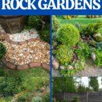 Rock garden collage