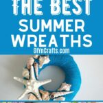 Summer Wreath Collage