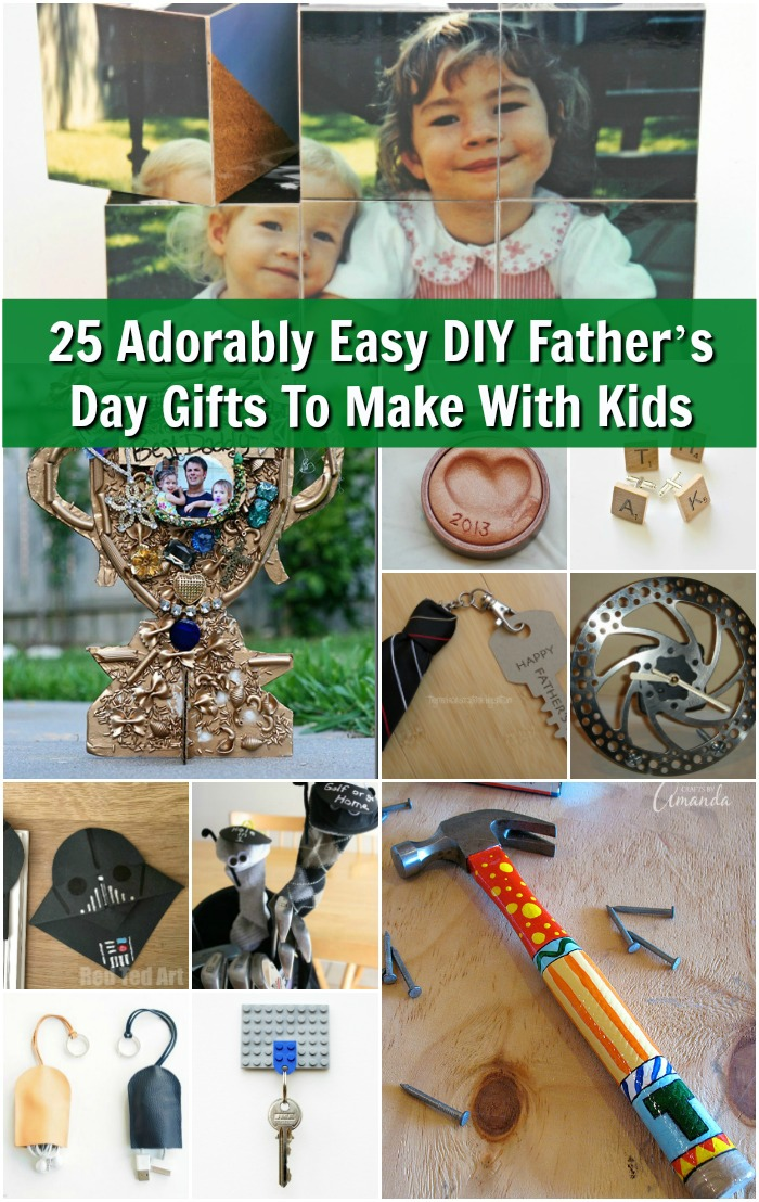 25 Adorably Easy DIY Father's Day Gifts To Make With Your Kids