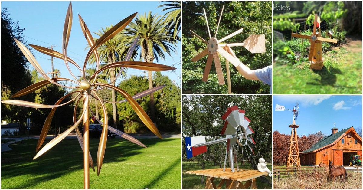 10 Gorgeous DIY Windmills That Add Charm To Your Lawn And Garden