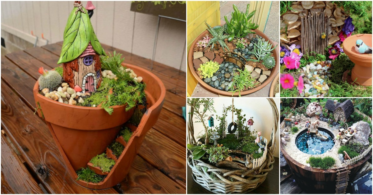 20 Magical Diy Fairy Gardens That Add Wonder To Your Home