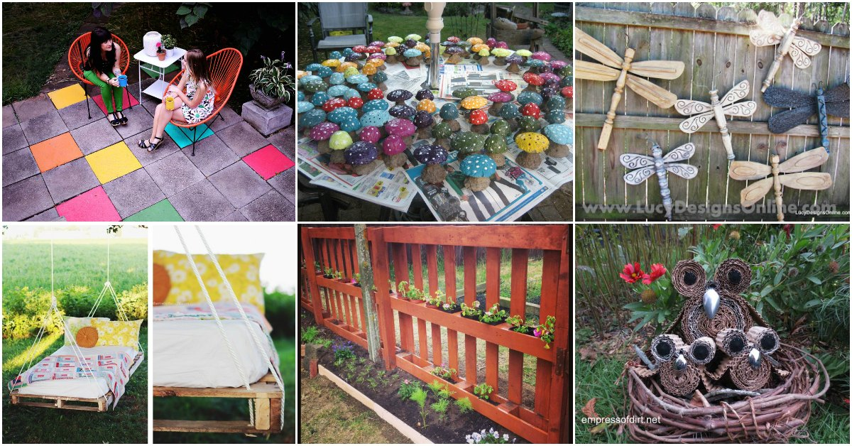 15 Creative Diy Garden Decor Projects That Fit Into Any Budget Diy Crafts