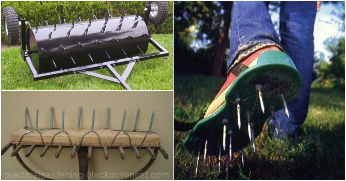 7 DIY Aerators That Will Make Your Lawn Lush And Beautiful - DIY