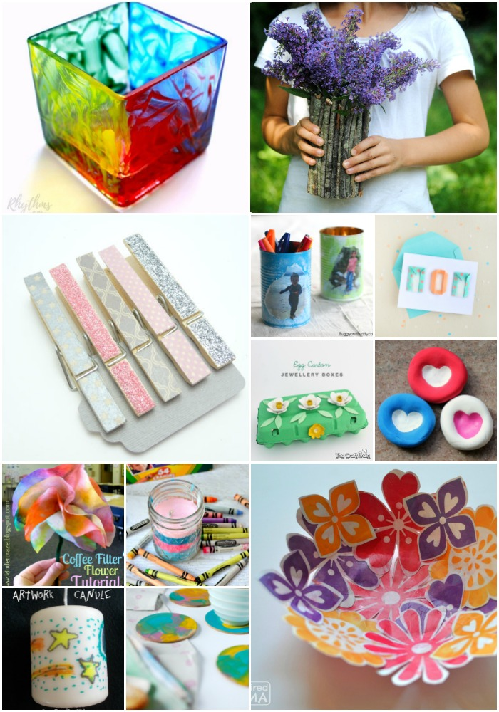 35 Super Easy DIY Mother's Day Gifts For Kids and Toddlers ...