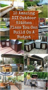 15 Amazing DIY Outdoor Kitchen Plans You Can Build On A ...