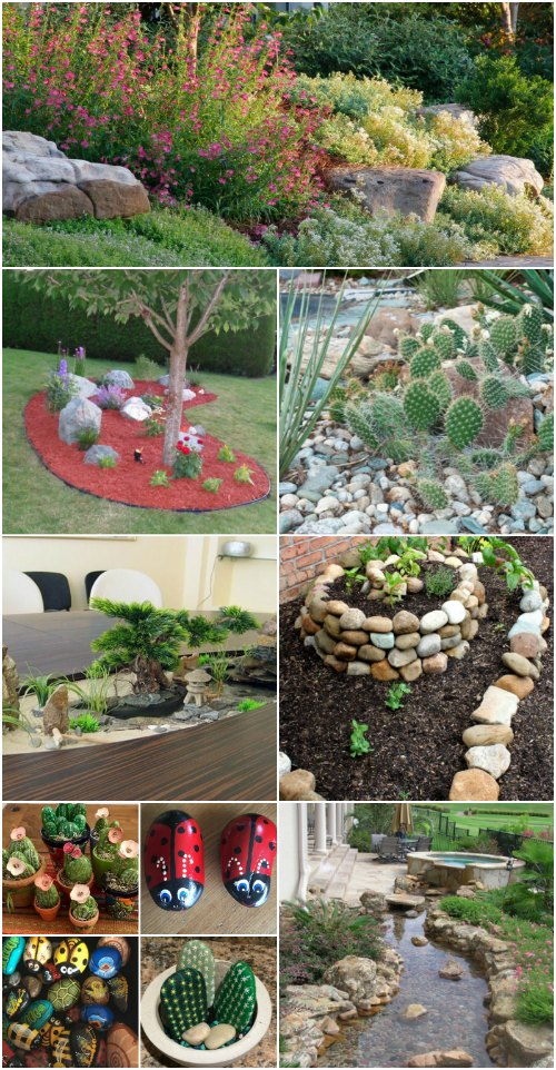 10 Gorgeous And Easy Diy Rock Gardens That Bring Style To Your