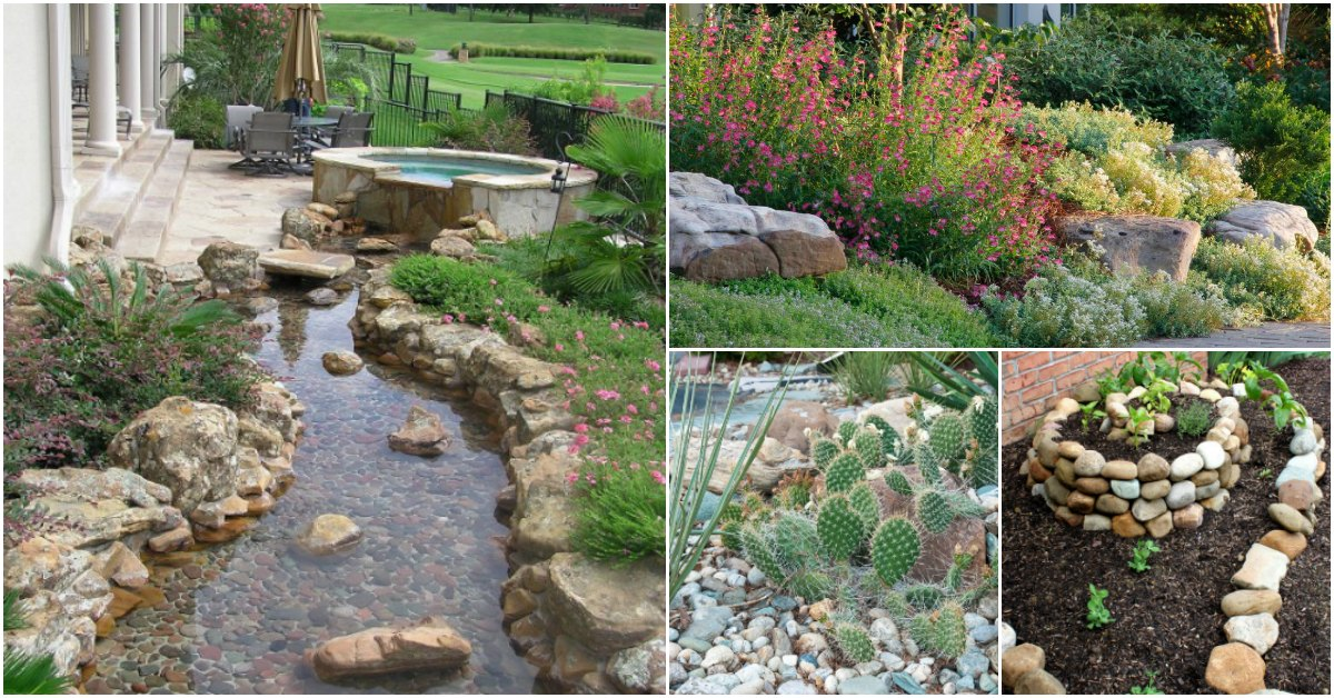 10 Gorgeous And Easy DIY Rock Gardens That Bring Style To ... on Backyard Rocks  id=27991