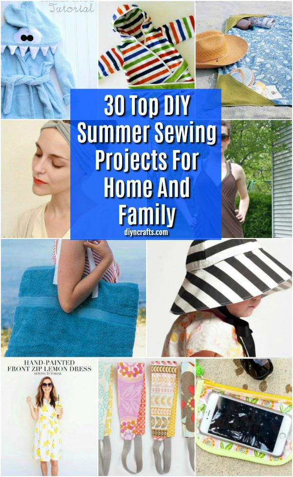 30 Top Diy Summer Sewing Projects For