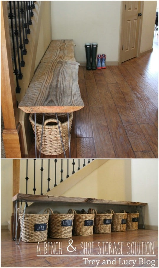 20 Outrageously Simple Diy Shoe Racks And Organizers You