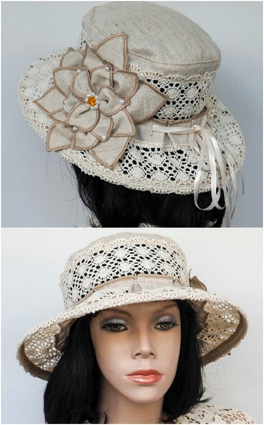 Romantic Cotton Sunhat