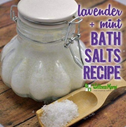 DIY Scented Bath Salts