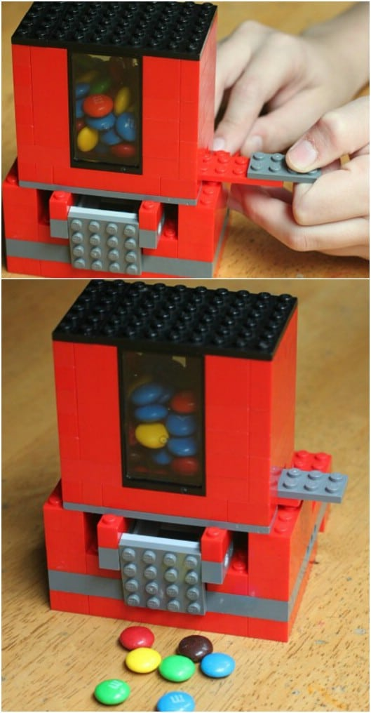 DIY Lego Candy Dispenser