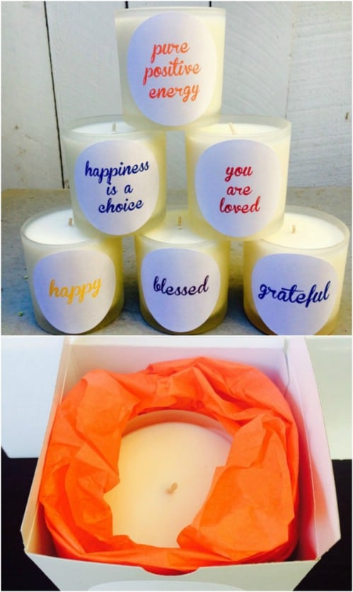 Positive Statement Candles