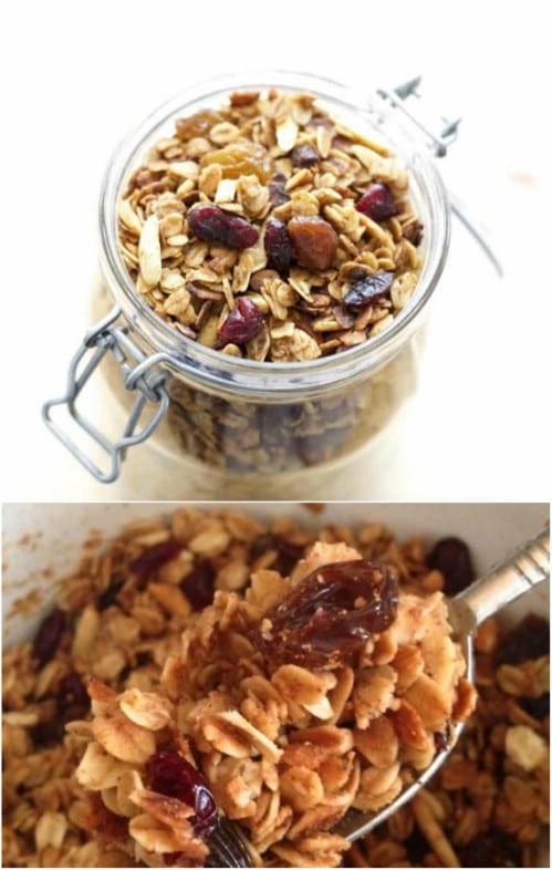 Delicious Low Calories Crock Pot Granola