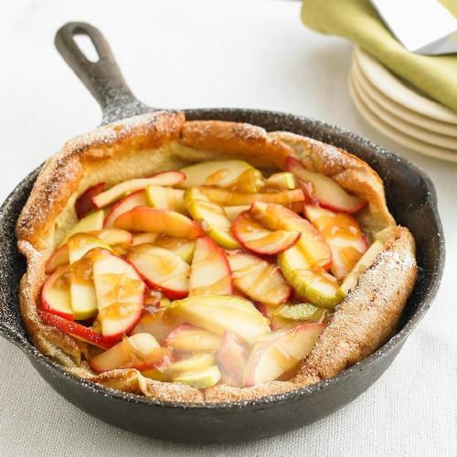 Apple Puff Oven Pancake