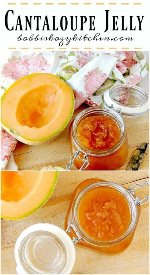 Homemade Cantaloupe Jelly