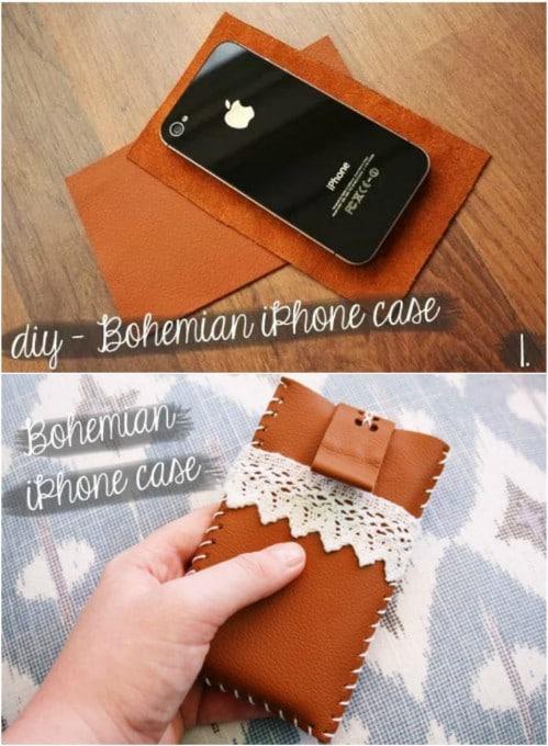 DIY Boho Style Phone Case